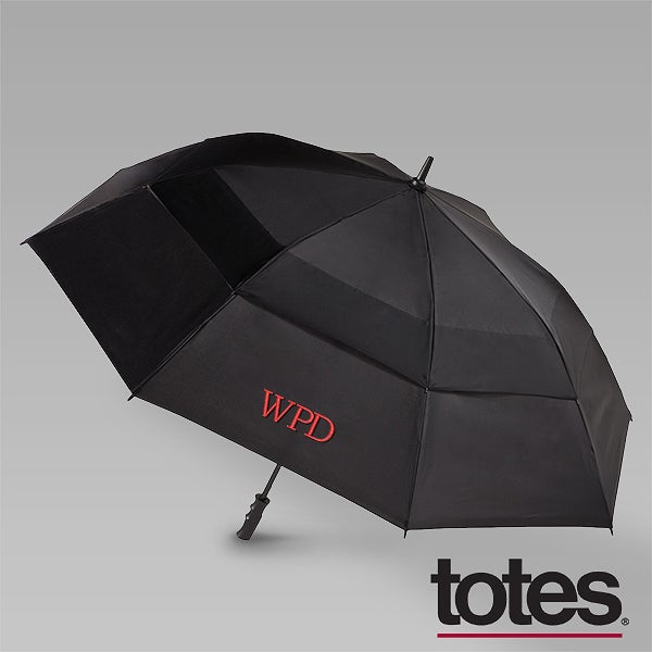 Personalized Vented Umbrella - Stormbeater by Totes - 12865