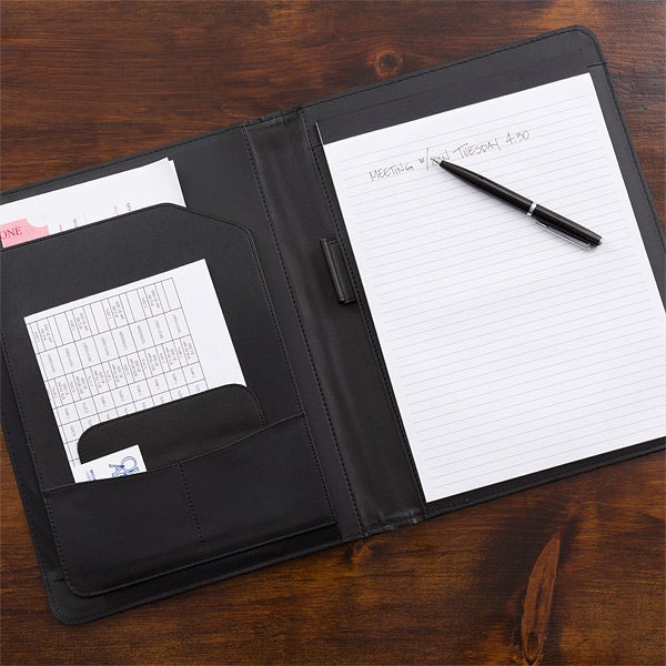 223c6d1e6819 Business Professional Personalized Portfolios - Grey   Black