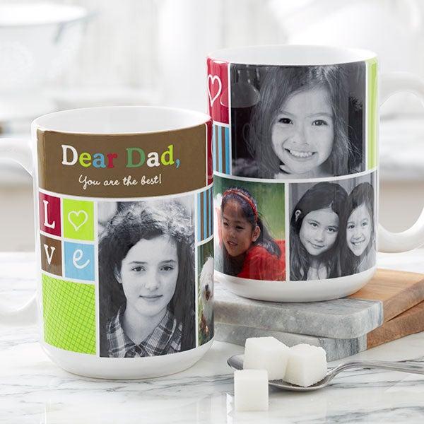 Personalized Picture Collage Coffee Mug - Photo Fun - 12884
