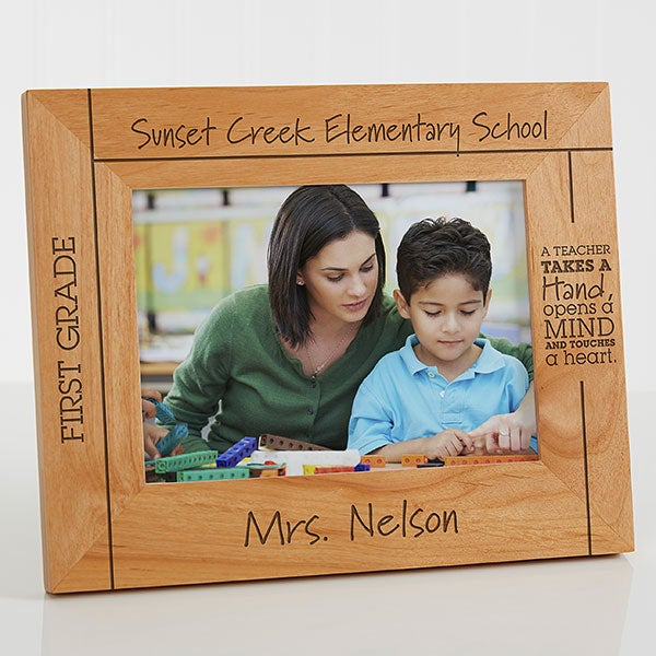 Personalized Teacher Picture Frame 5x7 From The Class