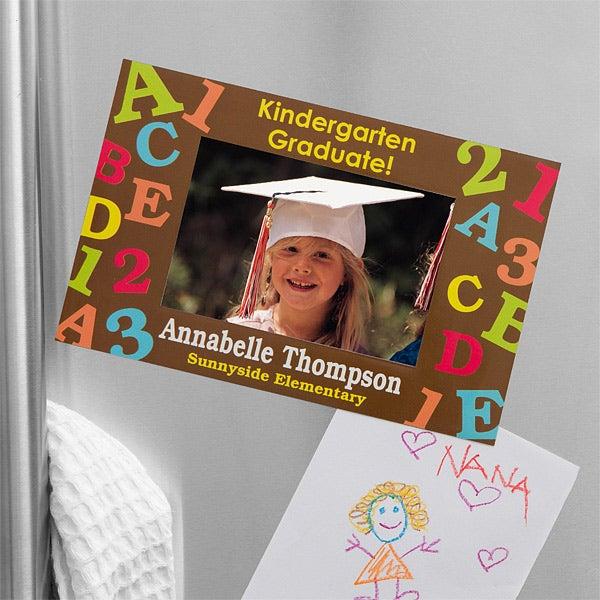 Personalized Refrigerator Magnet Frame - Graduation Memories - 12941