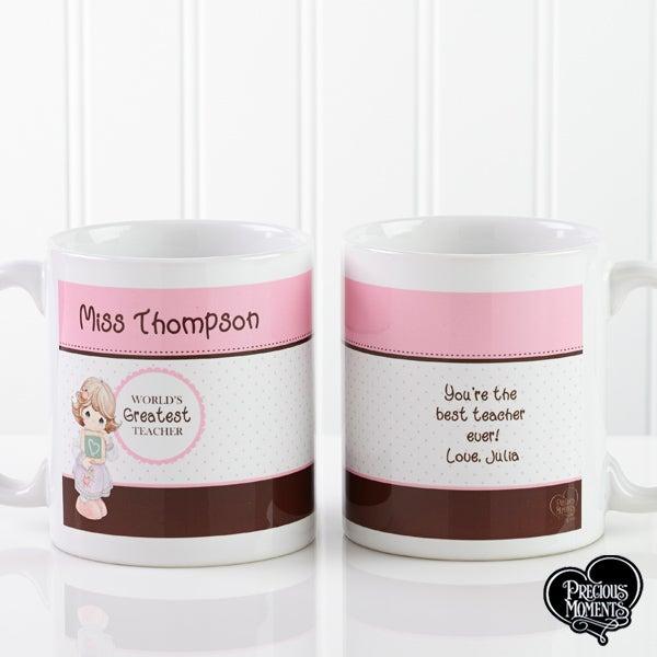 Personalized Teacher Coffee Mugs - Precious Moments - 12965