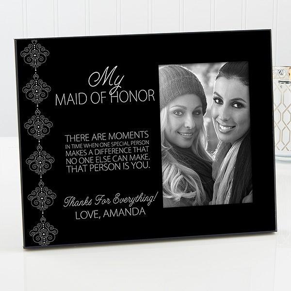 Personalized Bridesmaids Picture Frames Wedding Party