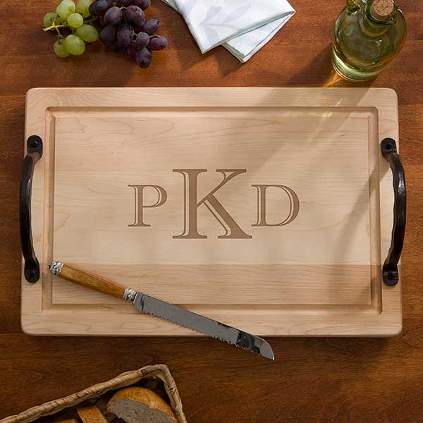 """Personalized Maple Cutting Board - 18"""" - 13070D"""