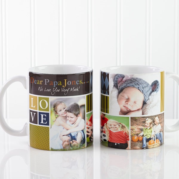 Personalized Photo Coffee Mugs - Photo Fun For Him - 13075