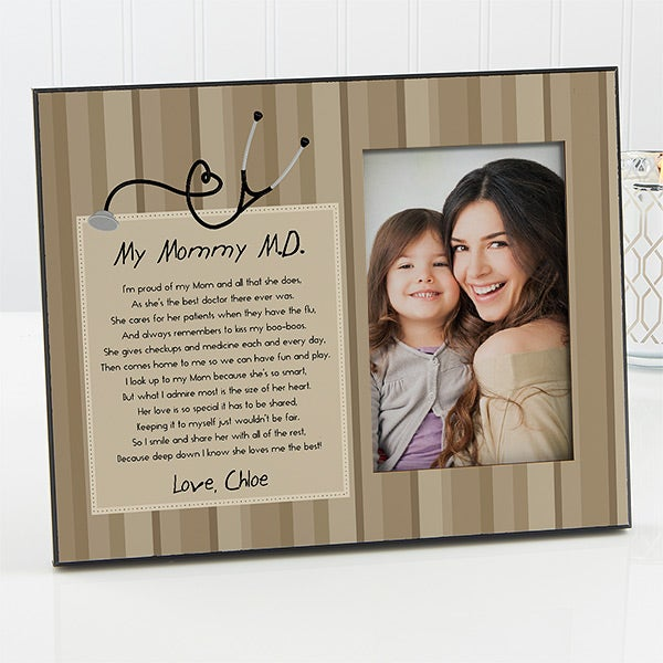 Personalized Picture Frames - Doctor Mommy - 13103