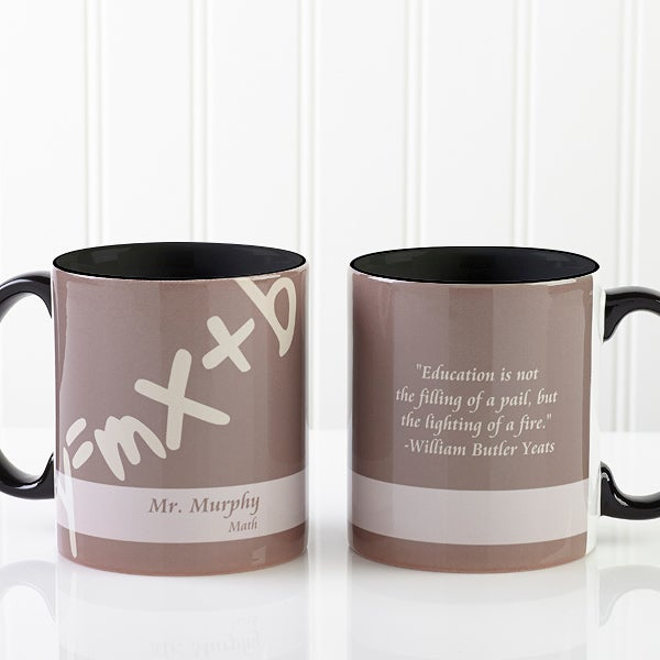 The Mug Coffee >> 13172 - Teaching Professions Personalized Coffee Mug