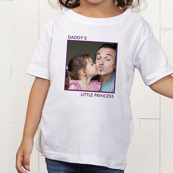 Personalized Photo Toddler T Shirt