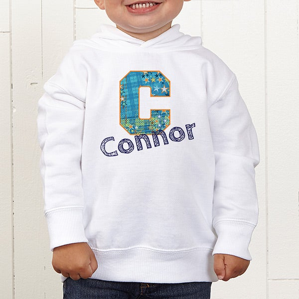 Personalized Boys Clothing - His Name & Initial - 13297