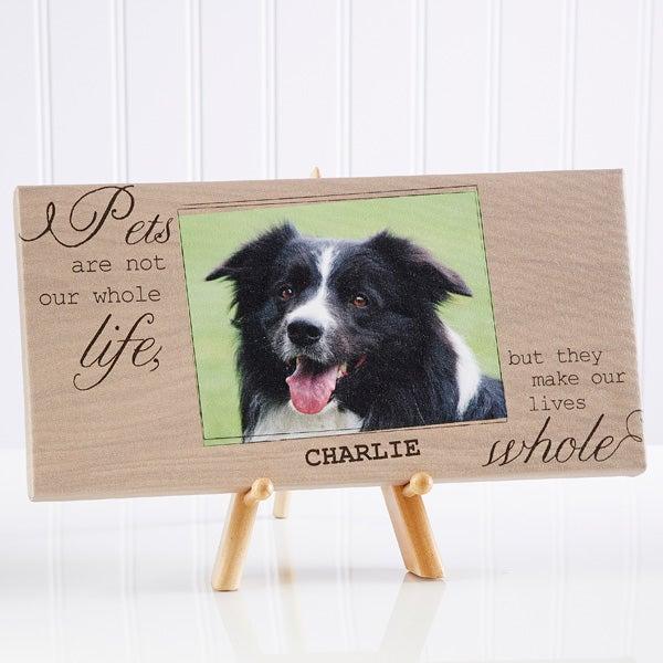 Personalized Pet Photo Canvas Prints - My Pets - 13340