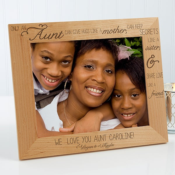 Personalized Aunt Picture Frames - Special Aunt - 13353
