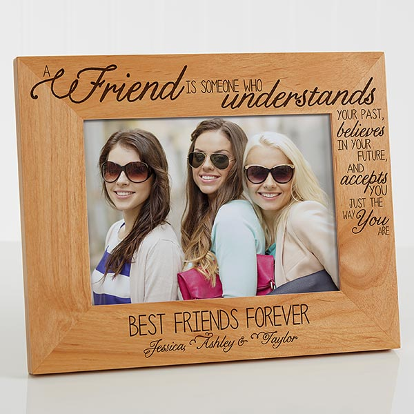 Personalized Friends Picture Frame 5x7 For Her