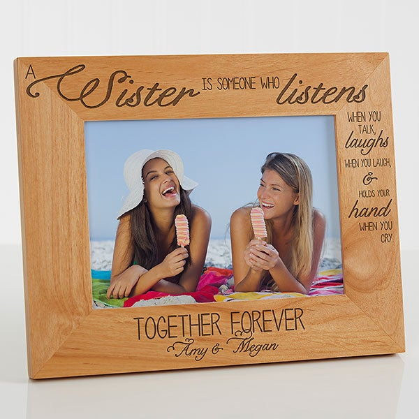 Personalized Sister Picture Frames - Special Sister - 13382