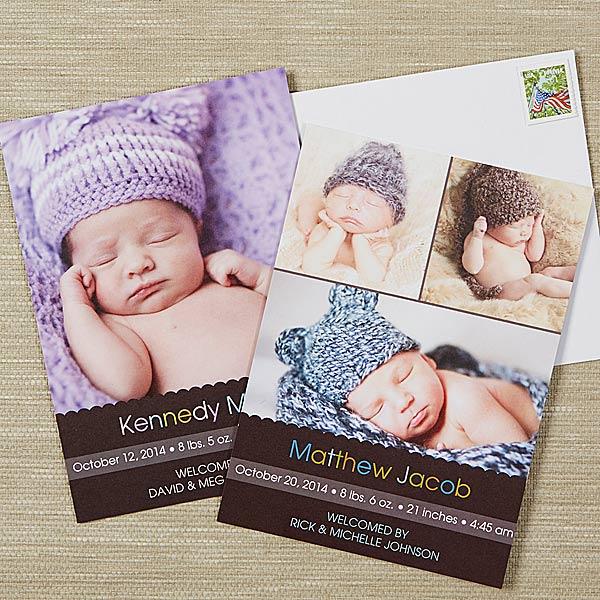 Photo Baby Announcements - Little Memories - 13442