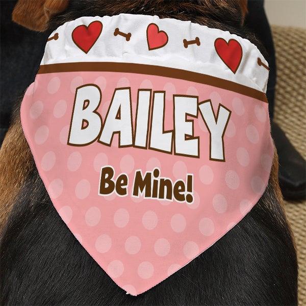Personalized Dog Bandanas - Valentine's Day - 13458