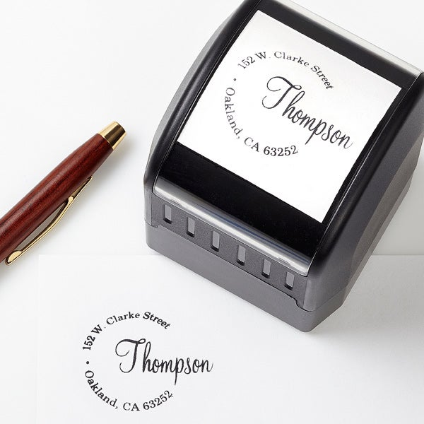 Personalized Return Address Stamp - Simply Sealed - 13523