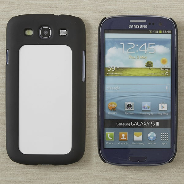 13580 - Samsung Galaxy S3 Black Cell Phone Case