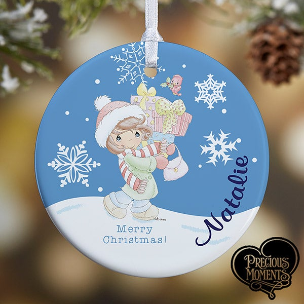 Personalized Christmas Ornaments - Precious Moments - Gifts Galore - 13753