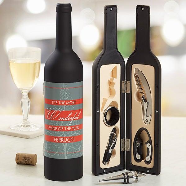 Personalized Wine Accessories - Wonderful Wine - 13775