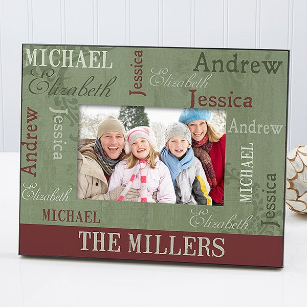 Personalized Picture Frames - Our Loving Family - 13833