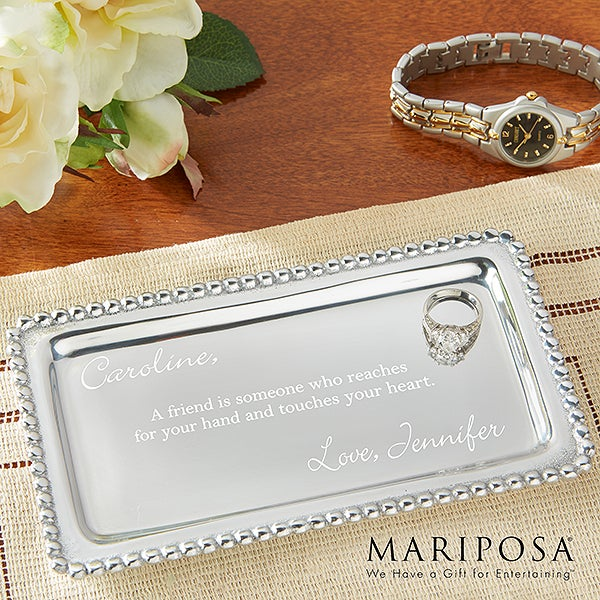 Personalized Jewelry Tray