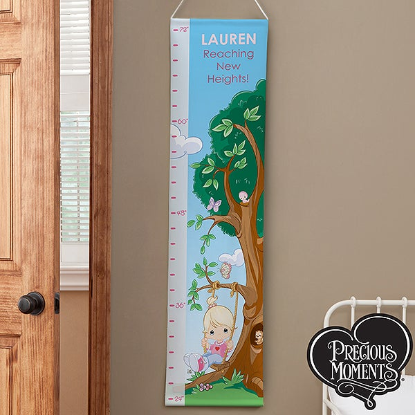 Personalized Girls Growth Chart - Precious Moments - 13952