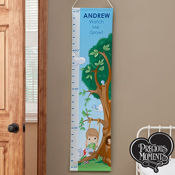 Personalized Boys Growth Chart - Precious Moments - 13953
