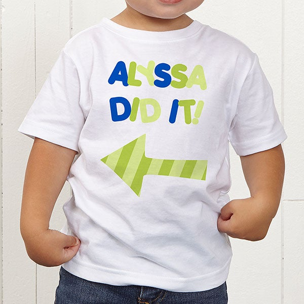 Personalized Baby Clothes for Kids - They Did It - 13980