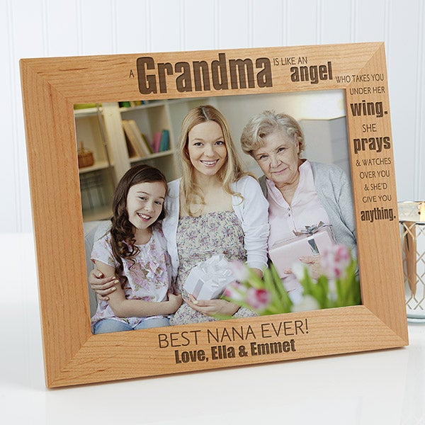 Personalized 8x10 Picture Frames Special Grandma For Her