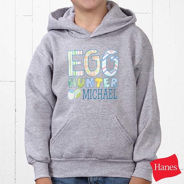 Personalized Kids Easter Apparel - Egg Hunter - 14079