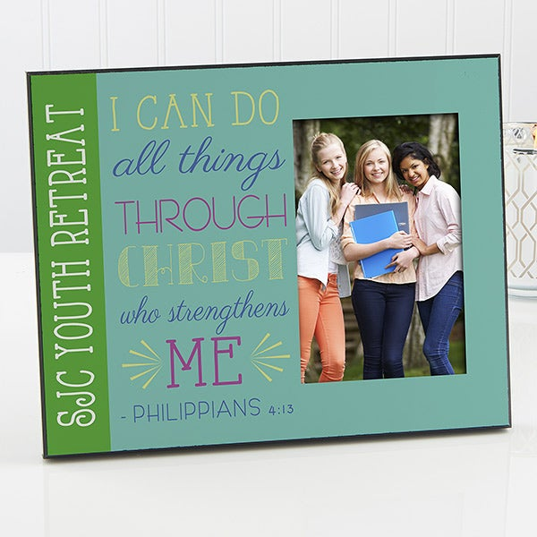 Personalized Christian Picture Frames - I Can Do All Things - 14161