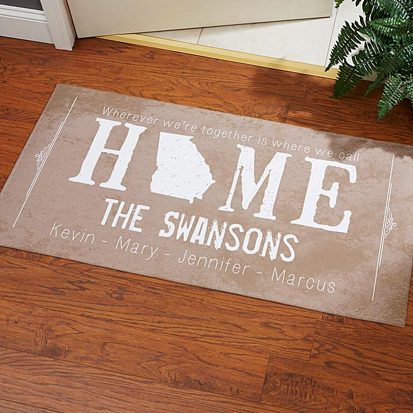 Personalized Doormats - State Of Love - 14169
