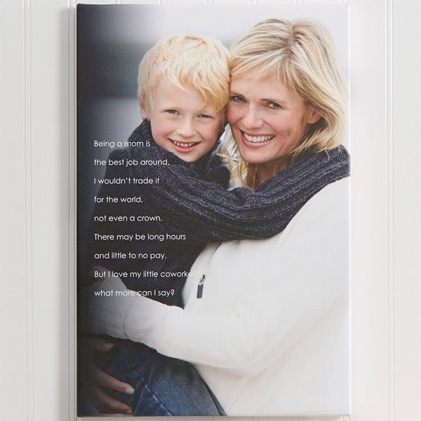 Personalized Canvas Prints for Her - Photo Sentiments - 14215