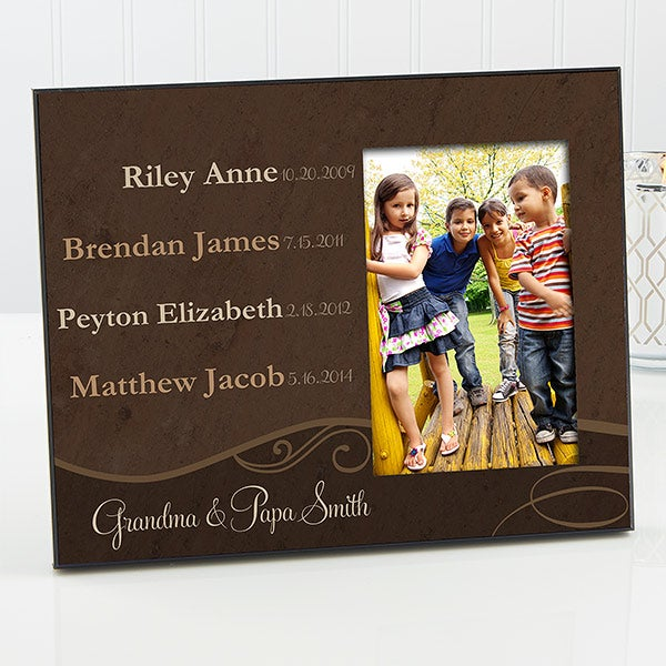 Personalized Grandparent Picture Frames My Grandkids