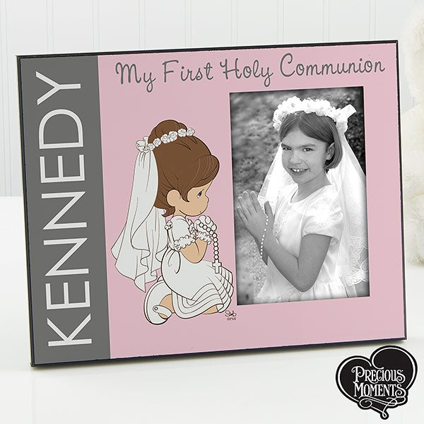 Personalized Precious Moments First Communion Picture Frames