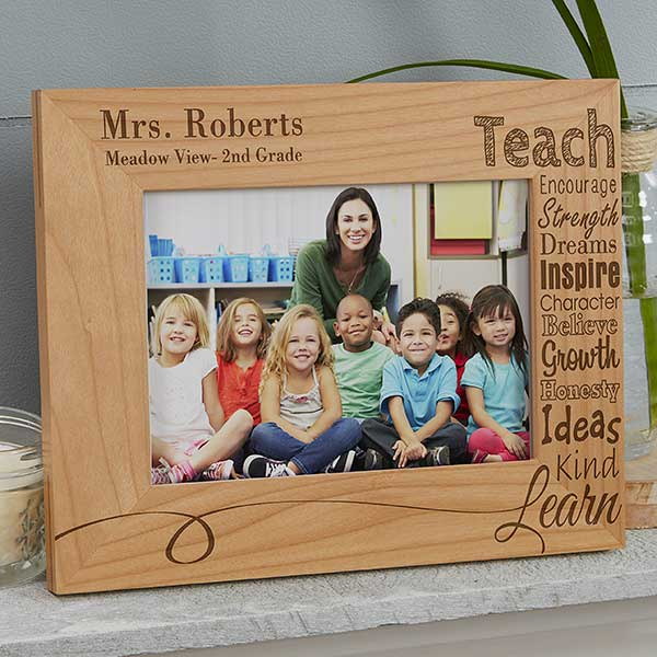 Personalized Teacher Picture Frames Our Teacher 4x6
