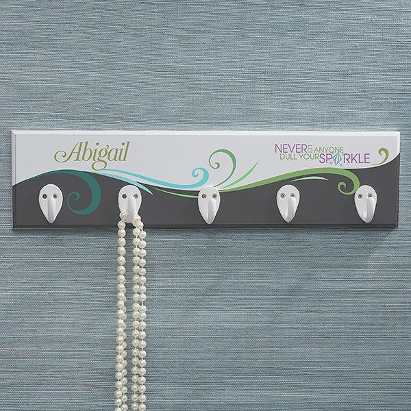 Personalized Necklace Holder - Daily Wit - 14364
