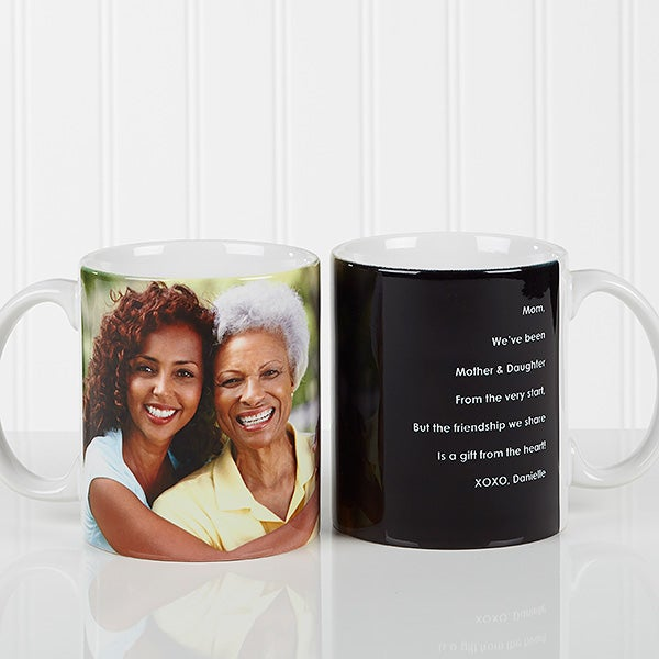 Personalized Coffee Mugs For Her - Photo Sentiments - 14383