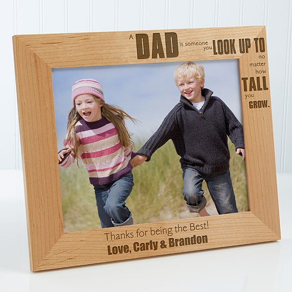 Personalized Picture Frame Special Dad 8x10 For Him