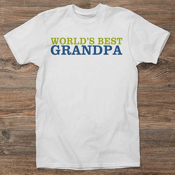 Pa Happy Birthday t shirt Gift Present Personalised Greatest Love tee Tshirt