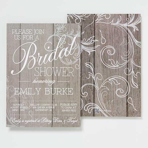 Wedding gift Custom Monogram Wedding Shower Baby Shower Rustic Monogram