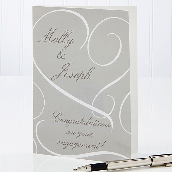 Personalized Greeting Cards - Couple In Love - 14524