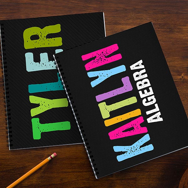 Personalized Kids Notebooks - All Mine - 14596