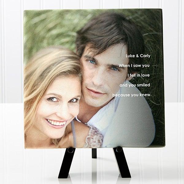 Personalized Romantic Canvas Prints - Photo Sentiments - 14662