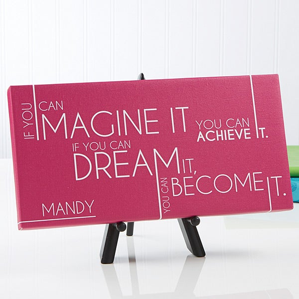 Personalized Canvas Prints - Inspiriting Messages - 14669