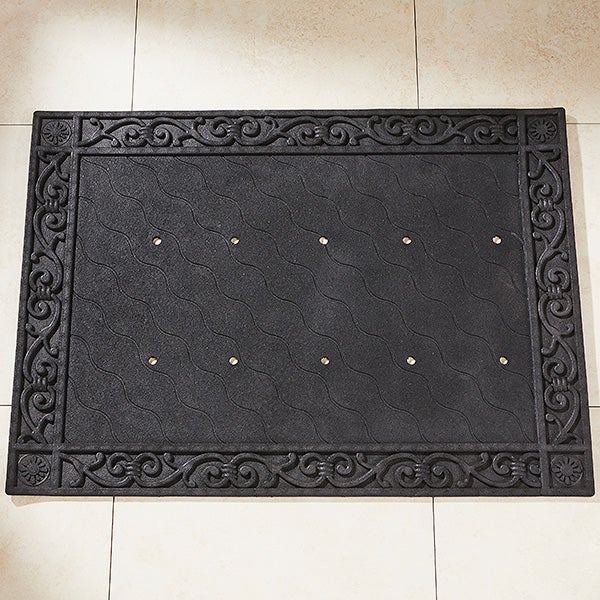 Recycled Rubber Doormat Tray for 18x27 Doormat - 14704