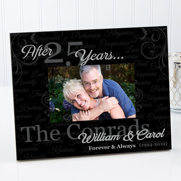 Personalized Anniversary Picture Frames - Forever & Always - 14707