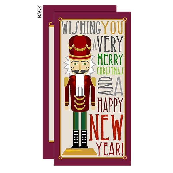 Nutcracker Personalized Christmas Postcards - 14716