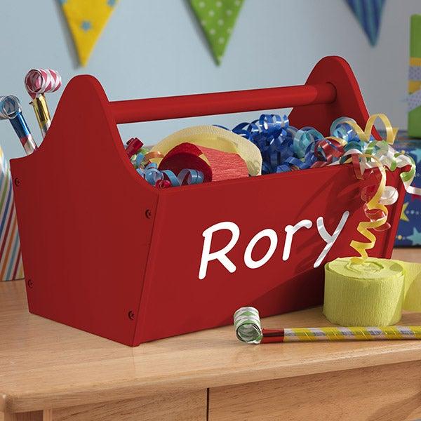Personalized Kid Kraft Toy Caddy - 14819D