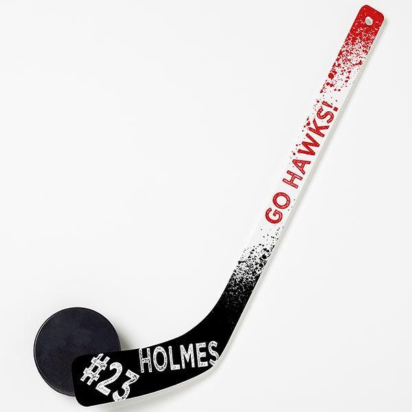 Personalized Mini Hockey Stick - You Name It! - 14837